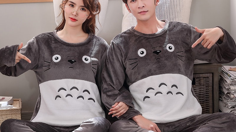 Adult Fleece Cute Onesie Pairs