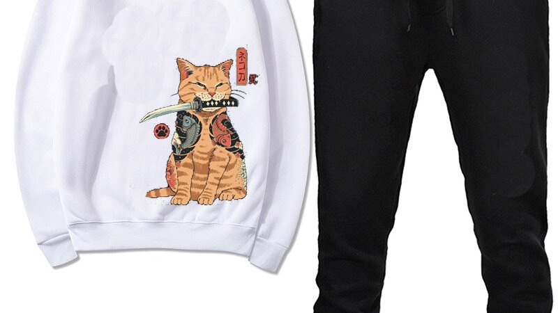 Men's Cat Tracksuit