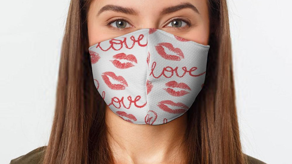 Love and Kisses  Face Mask