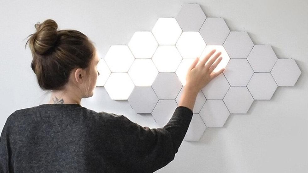 Touch Sensitive Lighting Lamp Hexagonal Lamps Modular Touch Wall LED