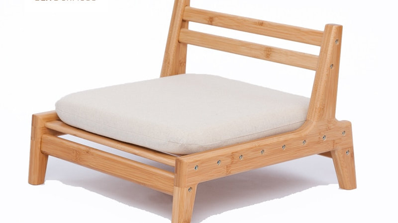 Low Bamboo Meditation Chair