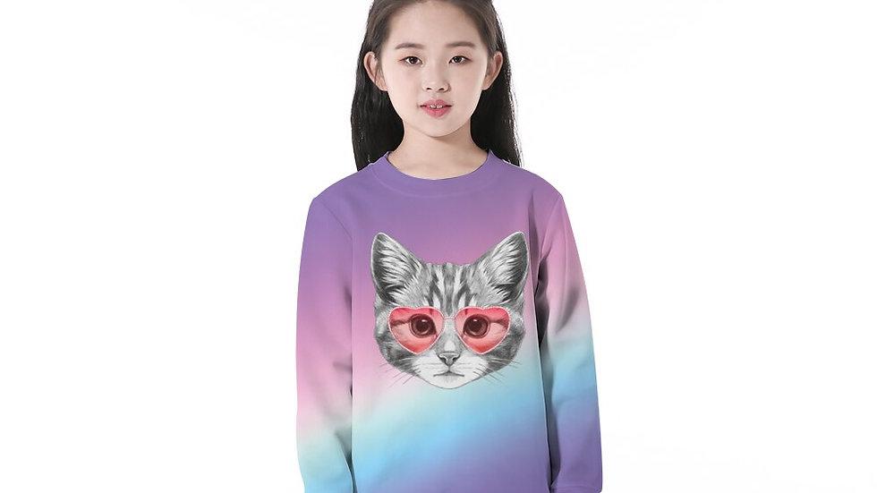 Colourful Kids Kitty Jumper