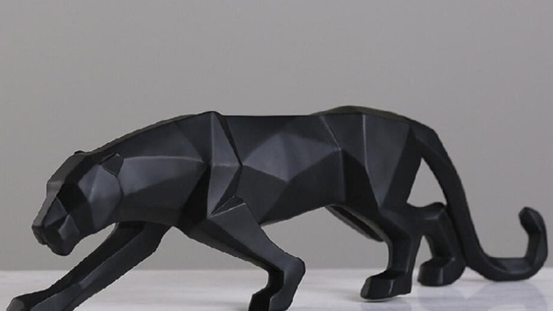 Big Cat Resin Figurine