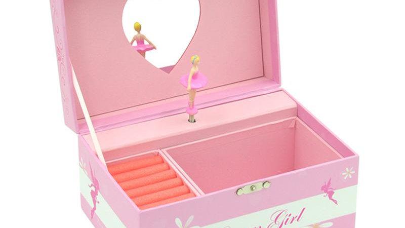 Ballerina Music and Jewellery Box