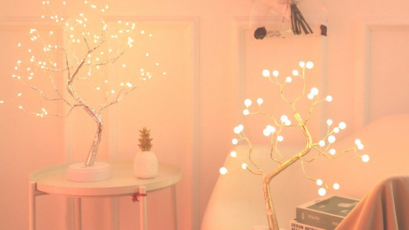 LED Cherry Blossom Night Light