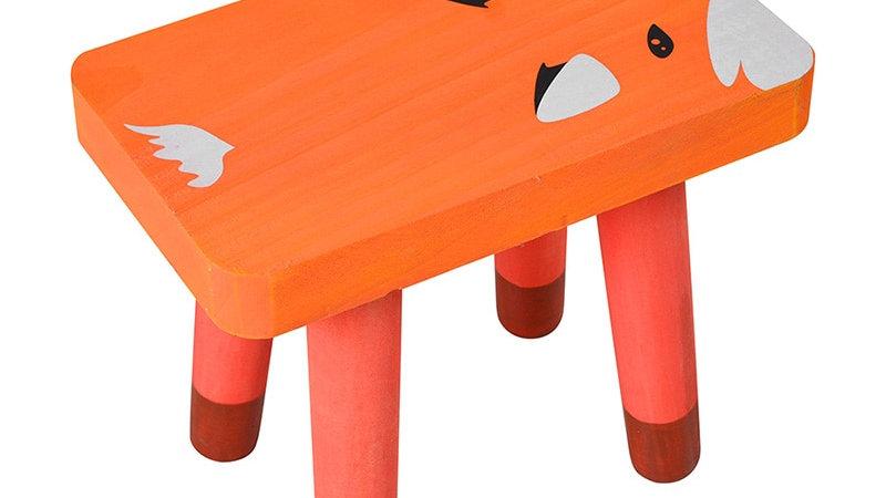 Children's Handmade Wooden Animal Chair