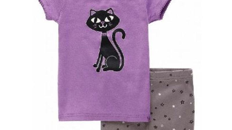 Kids Short Sleeve Pyjama Sets