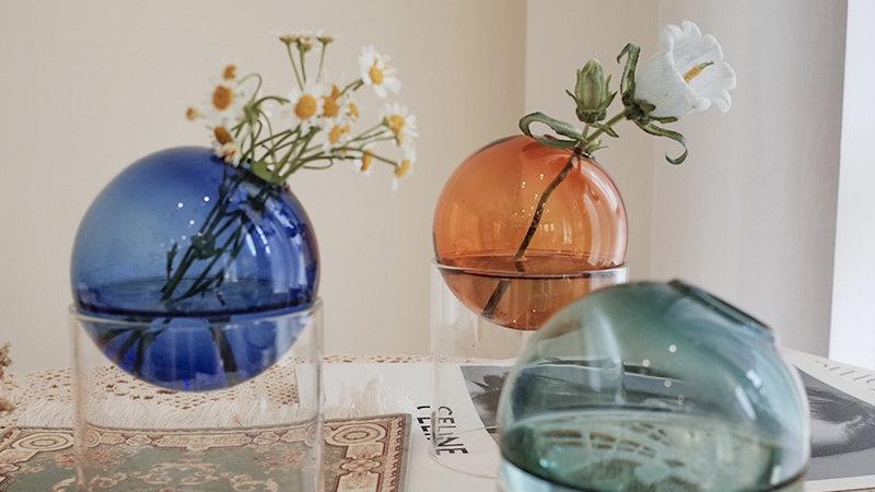 Colourful Flower Vases