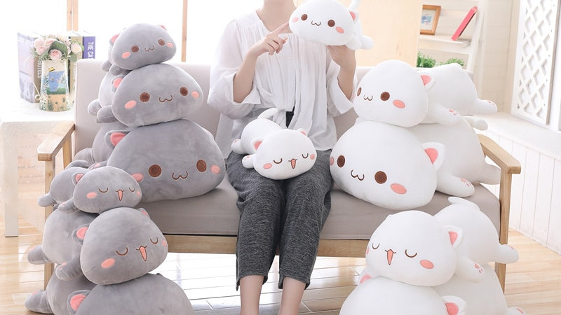 Soft Cat Plush Toys
