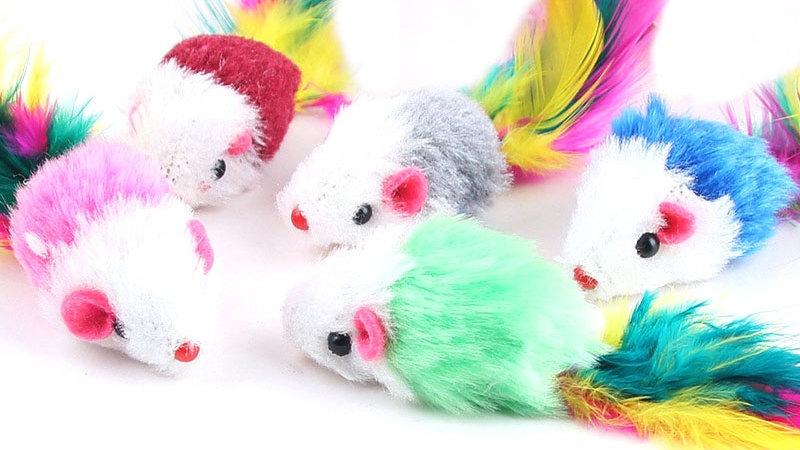 Mixed Kitty Toys