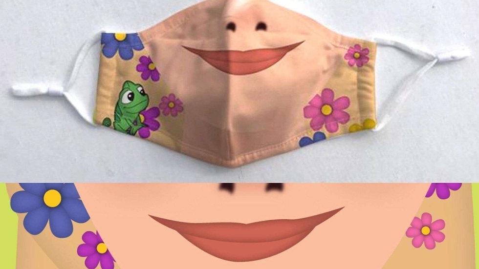 Princess Character Face Mask