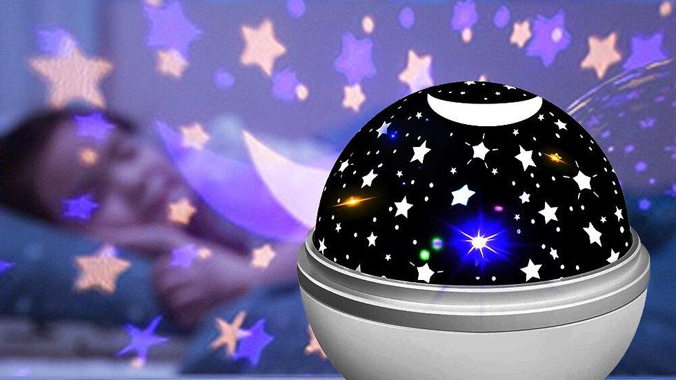 Rotating Galaxy LED Night Light