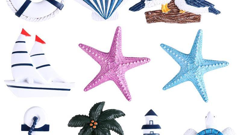 10Pcs/Set Nautical Wall Decorations