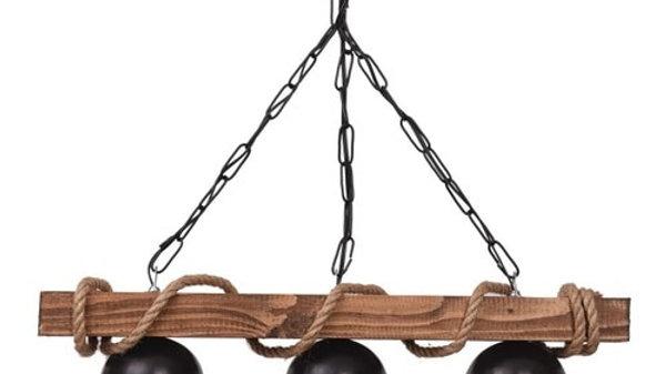 Rustic Rope Chandeliers