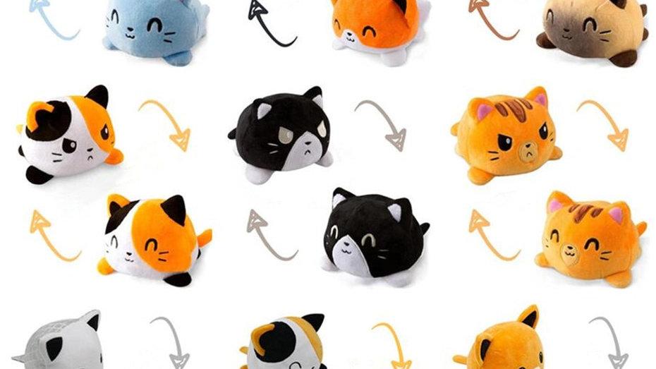 Cute Reversible Plush Toys