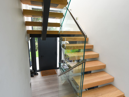Case study no. 1 - Central stringer stairs.