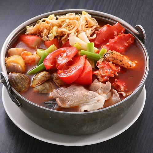 【東方龍】番茄海鮮湯/小