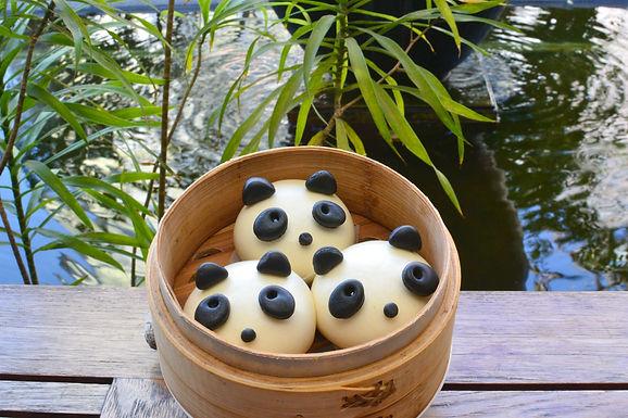 【水舞饌】熊貓流沙包*10顆