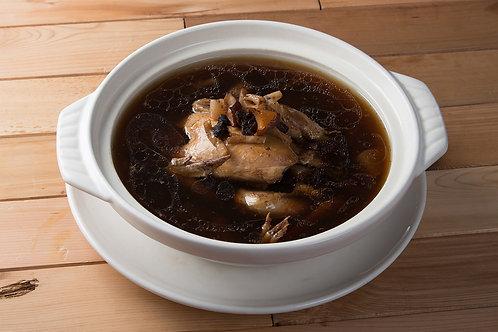 【東方龍】老菜脯養生雞湯