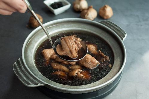 【東方龍】黑蒜頭養生雞湯