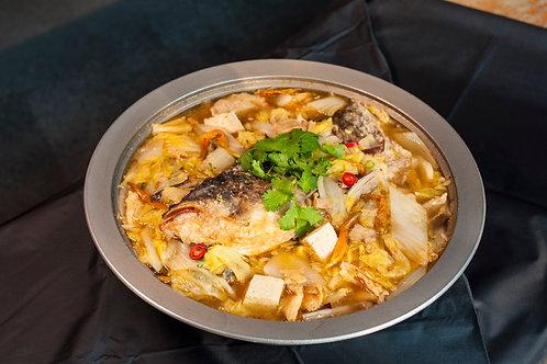 【東方龍】台式沙鍋魚頭