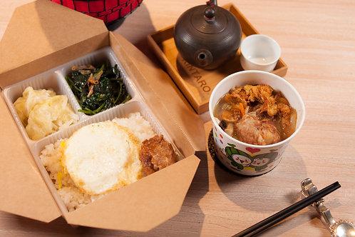 【東方龍】元氣健康便當 白菜滷排骨酥