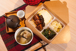 【東方龍】元氣健康便當 傳香梅干滷肉