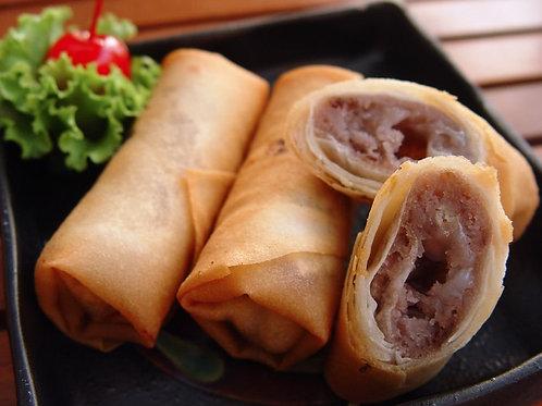 【水舞饌】芋香麻糬卷*15條