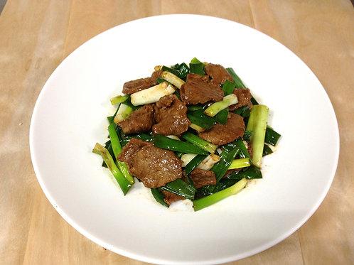 【東方龍】蔥爆牛肉