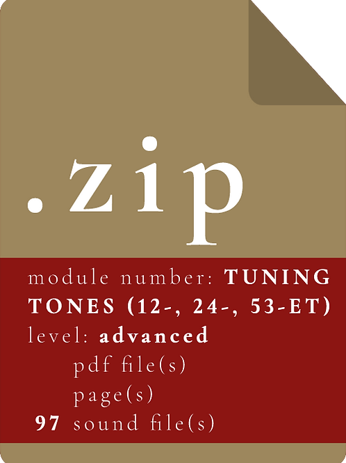 THE TUNING TONES (.WAV)
