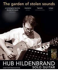 Hub Hildenbrand - Tour Poster