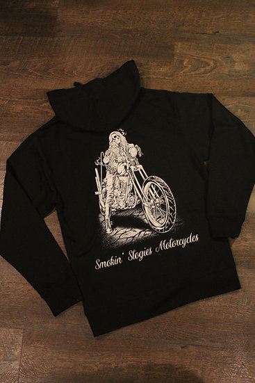 I Ride My own Chop. Womens hoodie