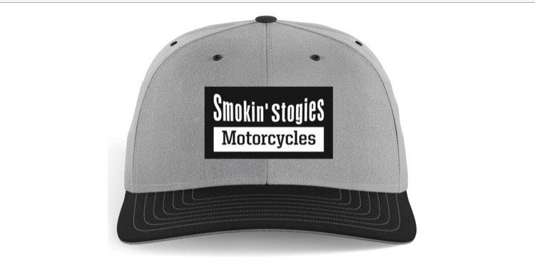 Smokin' Stogies Motorcycles Trucker hat