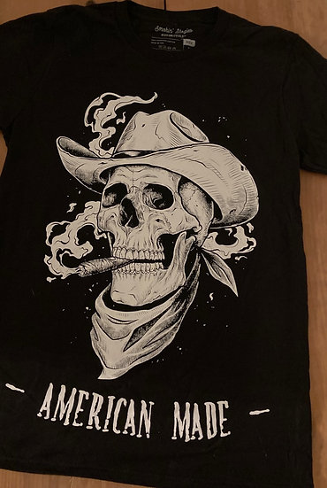 Smokin' Cowboy  (Made in USA) unisex T-Shirt