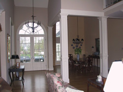 Custom Entrance and Dining Area