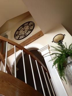 Circular Stair & Custome Trim