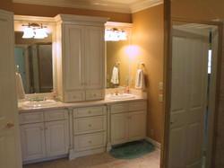 Custom Double Sink Bathroom