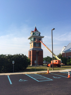 BCTC Historic Clock Tower Repairs Danville KY