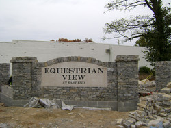Equestrian View East Stone Wall