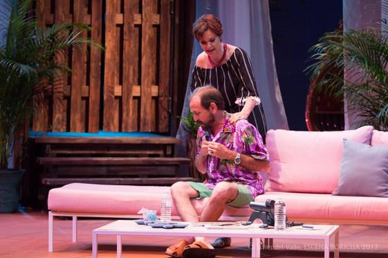 Cristina Soler y René Monclova (Escena