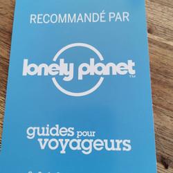 Recommandation par Lonely planet