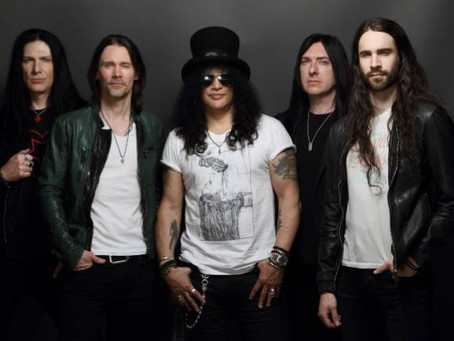 """SLASH FT MYLES KENNEDY AND THE CONSPIRATORS:RELEASE NEW VIDEO""""BOULEVARD OF BROKEN HEARTS"""""""