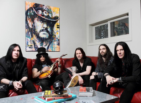 Slash & Myles Kennedy and the Conspiritors - U.S. Headlining Tour Kicks-Off July 15 In San Francisco