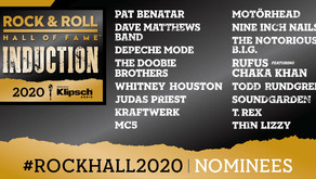 Rock Hall of Fame Nominees 2020 Are In