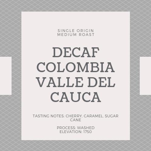 Decaf Colombia Valle Del Cauca