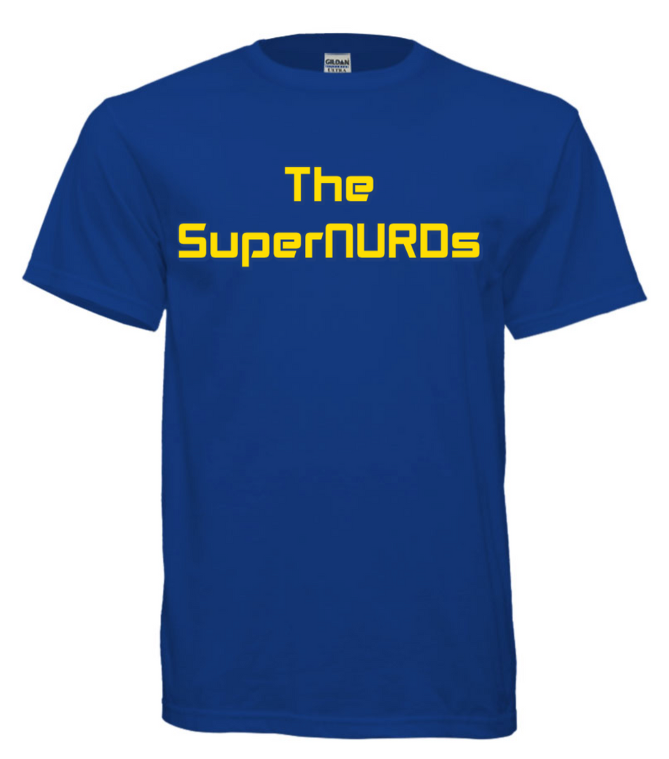 SuperNURDs Blue #2