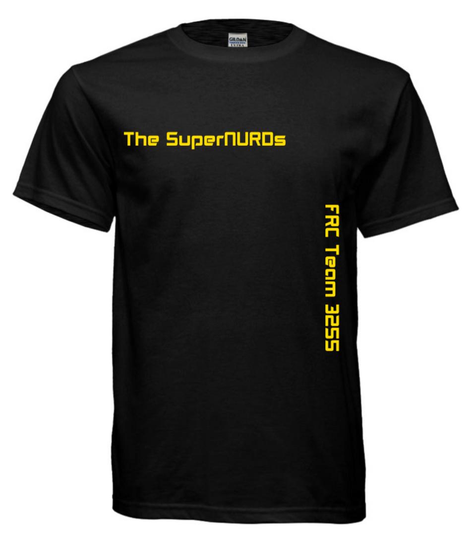 SuperNURDs Black #1