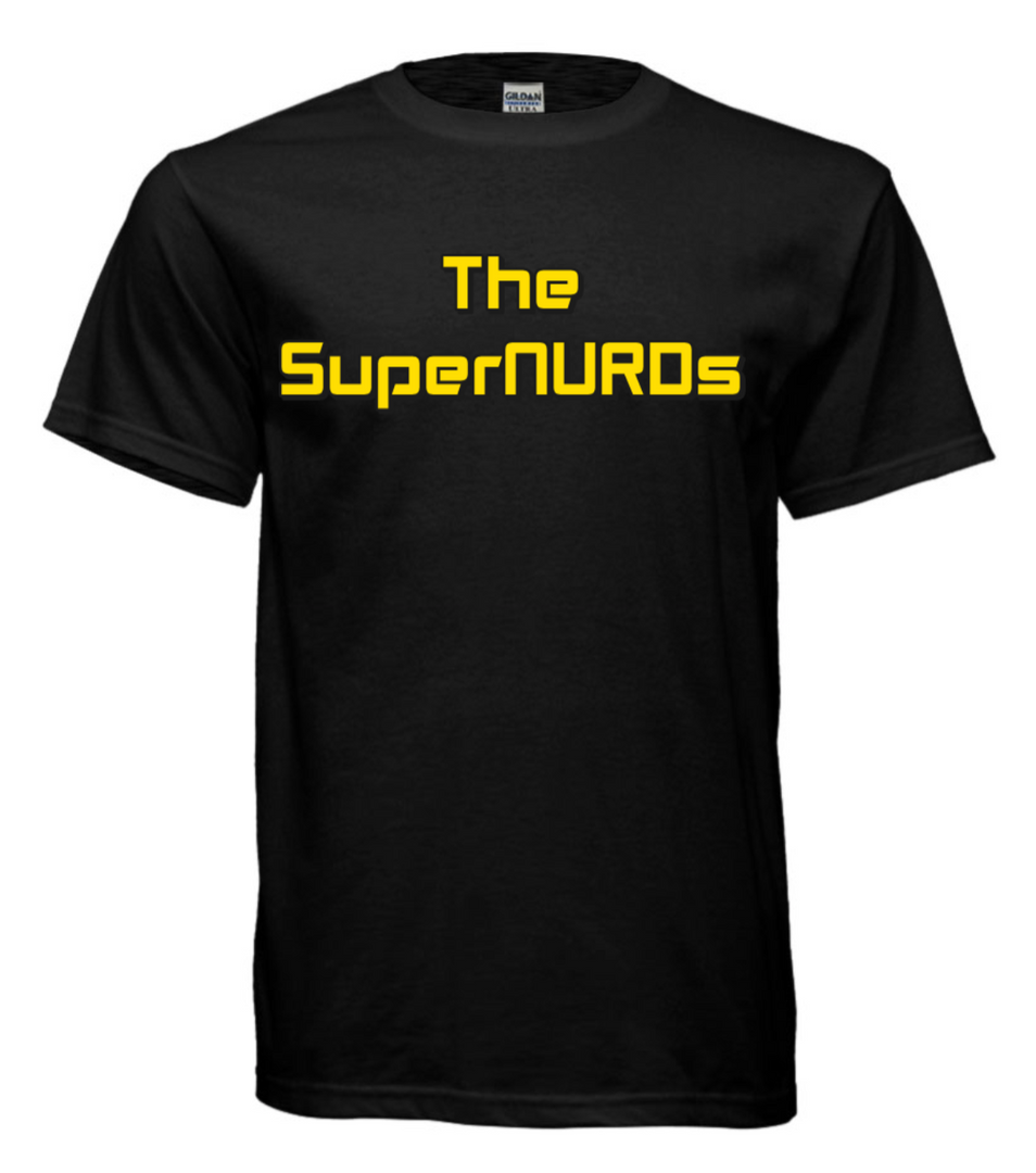 SuperNURDs Black #2