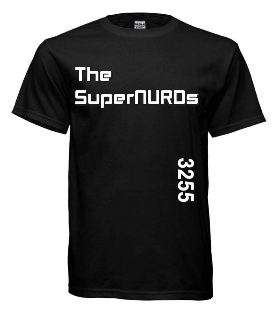 SuperNURDs Black #3