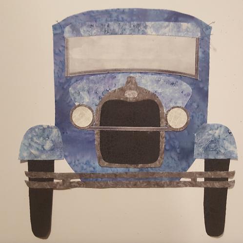 1929 Model A Classic Car Applique
